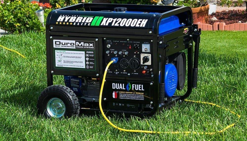 DuroMax Hybrid Dual Fuel XP12000EH