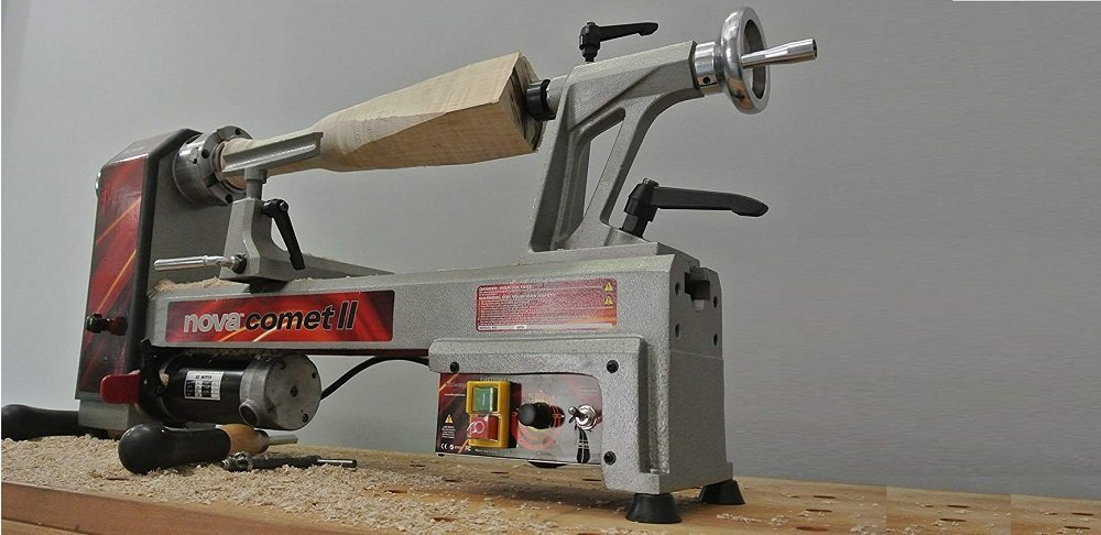 NOVA 46300 Comet II Variable Speed Mini Lathe Review