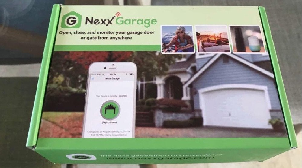 NEXX Garage NXG-100b Smart WiFi Remotely Control Existing Garage Opener Review