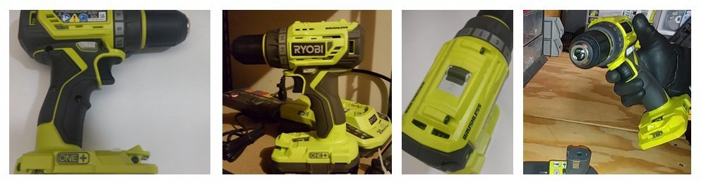Ryobi P252 18V Lithium Ion Battery Powered Brushless 1,800 RPM 1/2 Inch Drill Driver w/ MagTray and Adjustable Clutch