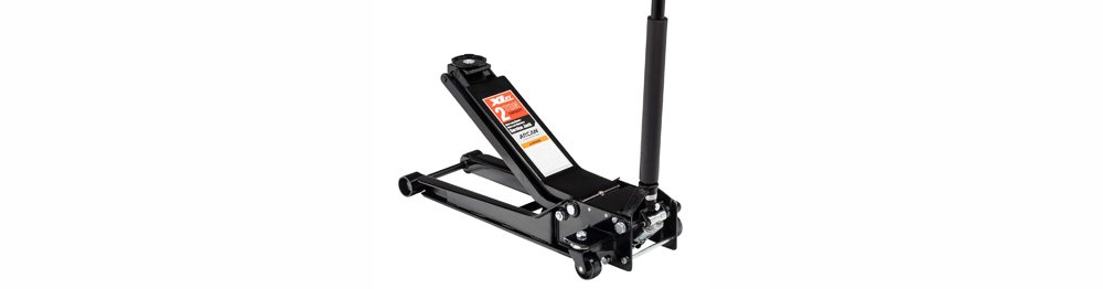 Arcan XL2T Black Low Profile Steel Service Jack - 2 Ton Capacity