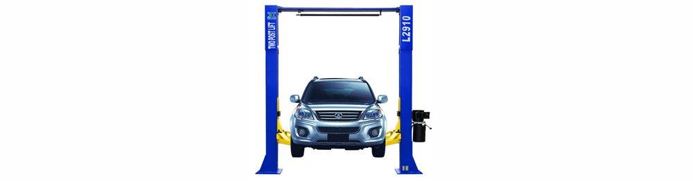 XK 9,000 LB Over Head L 2910 2 Post Lift Car Auto Truck Hoist / 12 Month Warranty