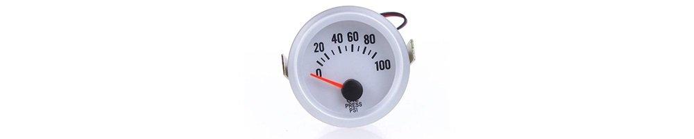 KKmoon Oil Pressure Meter Gauge with Sensor