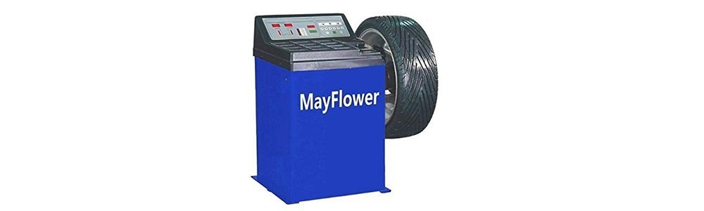 Mayflower - 1.5 HP Tire Changer Wheel Changers Machine Balancer Rim Clamp Combo 560 680/1 Year Full Warranty