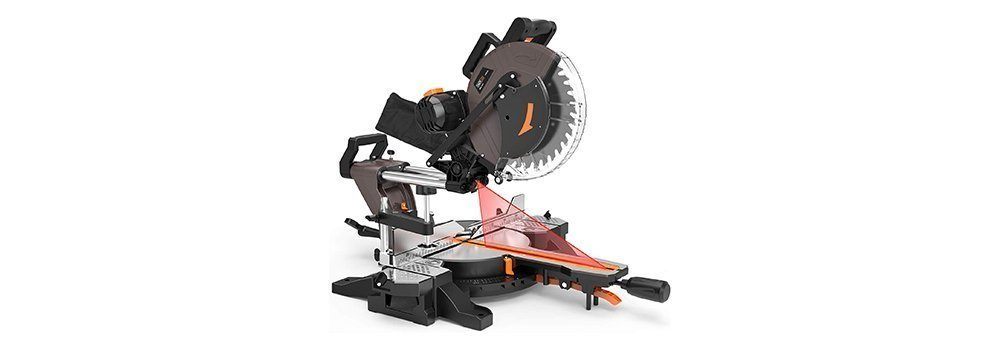 TACKLIFE PMS03A Sliding 12-Inch Double-Bevel Cut with Laser Guide Compound Miter Saw Review