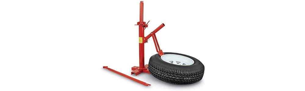 PowerLift Manual Tire Changer Base, 15-3/8-18-1/2