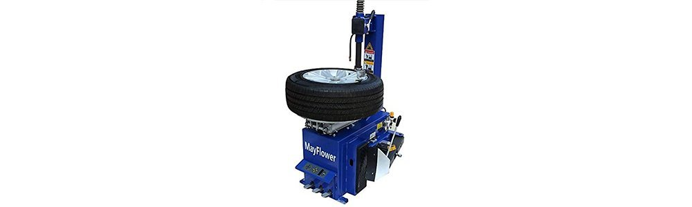 Mayflower - 1.5 Horse Power Tire Changer Wheel Changers Machine Rim clamp 950 Bead Blaster / 1 Year Full Warranty