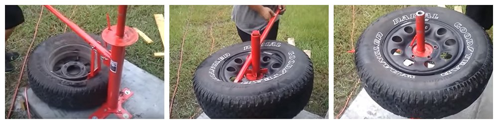 Portable Tire Changer