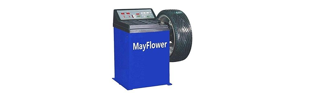 Mayflower - Wheel Balancer Tire Balancers Machine Rim Car Heavy Duty 680/1 Year Full Warranty