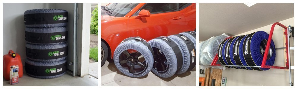 Tire Covers for Storage